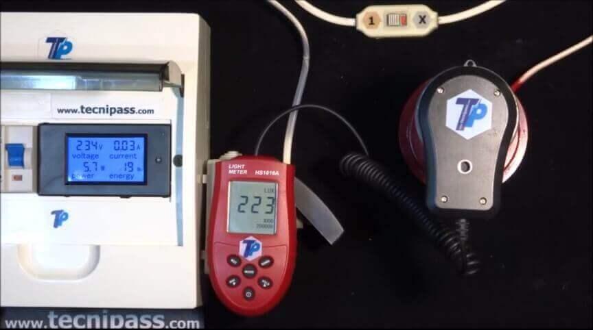 D'économies LedHalogèneFluo Mesure D'éclairage Luxmètre Avec Comparatif Compacte iZuTOPkX